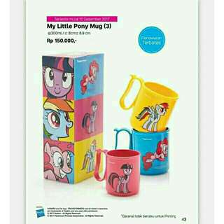 MUG MY LITTLE PONY TUPPERWARE