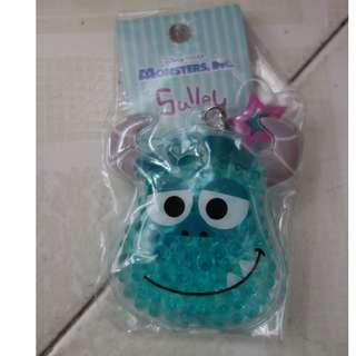 [包平郵]全新日本Pixar怪獸公司毛毛可愛鎖匙扣