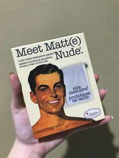 The balm meet matte nude premium
