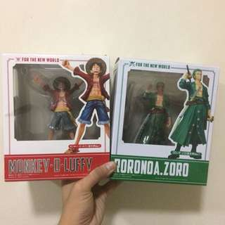 New 2 One piece Action figure