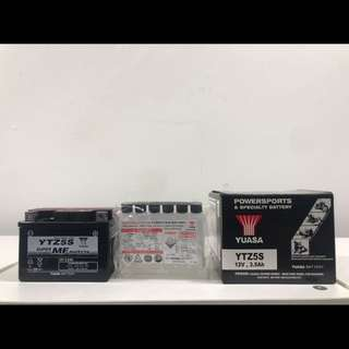 Honda Wave Yamaha Jupiter Yamaha X1R Spark135 Motorcycle Battery