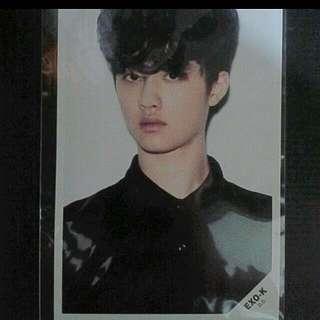 EXO D.O Everysing Photocard