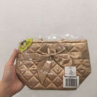 Naraya Small Carry On Bag in Gold