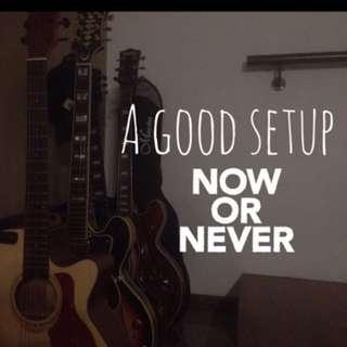 Affordable Guitar Setup!