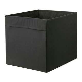 IKEA DRONA black storage box