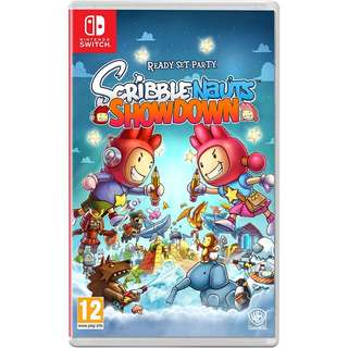 [new not used] SWITCH Scribblenauts Showdown Nintendo Warner Home Video Puzzle Games