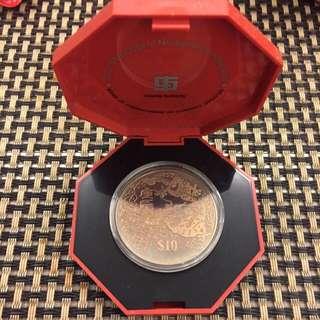 Millennium Chinese Almanac $10 Coin