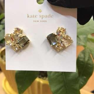 Kate spade O0RU1484 4水晶耳環(包郵)