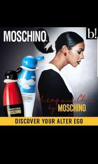 100ML MOSCHINO CHEAP AND CHIC Tester
