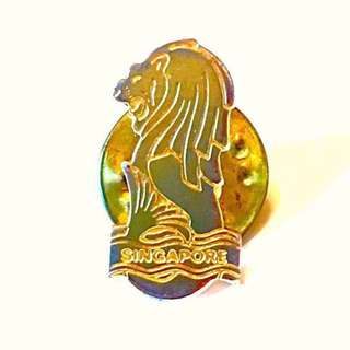 Rare Merlion Pin