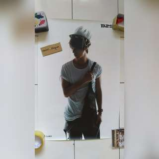[POSTER CLEARANCE] BEAST/ B2ST DONGWOON FICTION POSTER