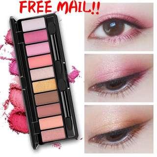 READY STOCKS 10 colours eyeshadow palette