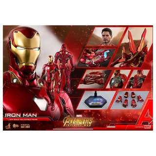 Pre-Order for Movie Masterpiece Diecast Series MMS473D23 - Avengers: Infinity War - Iron Man