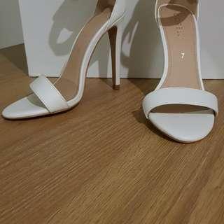 Corelli white heels
