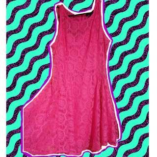 Pink Dress, Size L