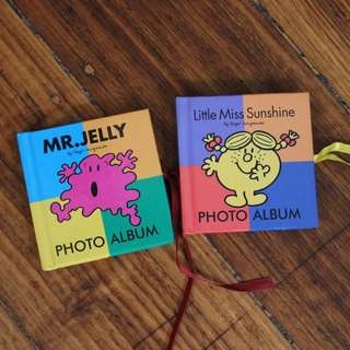 Mr and Little Miss Photo Albums