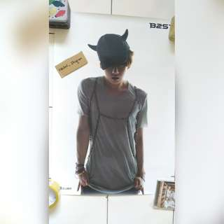 [POSTER CLEARANCE] BEAST B2ST HYUNGSEUNG FICTION POSTER