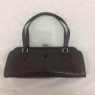 Charles & Keith Genuine Leather Handbag