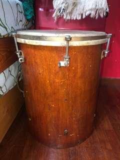 Bass drum for Kompang/Jidur