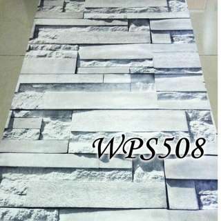WPS508 GREY BRICK STONE