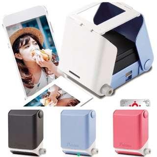 日本曬相神器PRINTOSS 手機相片即影即曬 (只有粉藍色)
