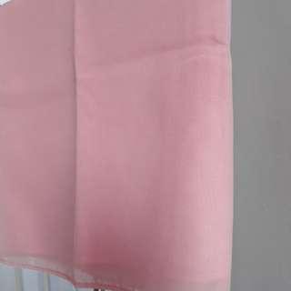 Hijab Baby Pink Polycutton