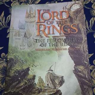 Novel Lord of the Rings Old Cover Edition