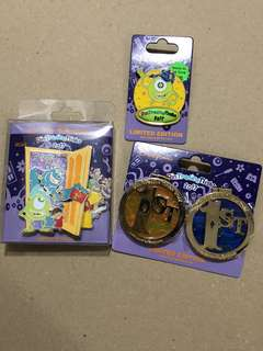 香港 迪士尼 徽章 Disney Pin PIN TRADING NIGHT 2017 SET