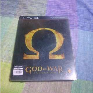 God of War Ascension Steel Case Edition