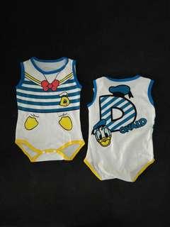 Donald Duck Baby Romper