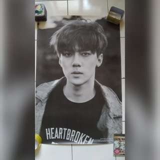 [POSTER CLEARANCE] EXO EXODUS SEHUN POSTER