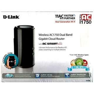 DLINK AC1750 DIR 868L router - reduced price