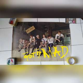 [POSTER CLEARANCE] GOT7 MAD GROUP POSTER VER 3