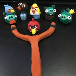 Angry bird series ( clay model)
