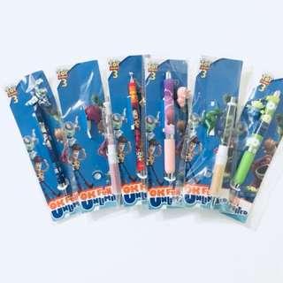 Toy Story 3 全套限定版鉛字筆