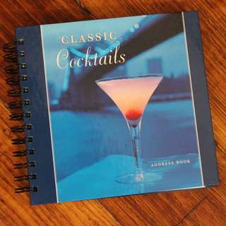 Classic Cocktails Address Book