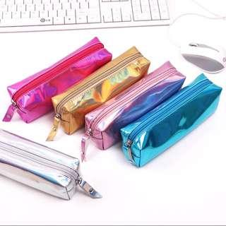 Holographic pencil case