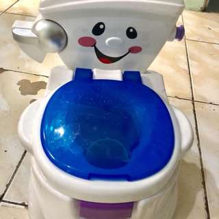 Fisher Price My Talking Potty Friend - Musical Learning Sounds Toilet Training