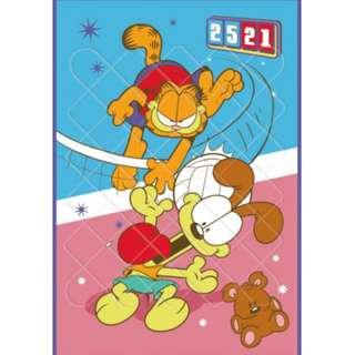 Yes Zone 卡通精品 加菲貓 Garfield 正版 單人/雙人 絲般綿四季被 冷氣被