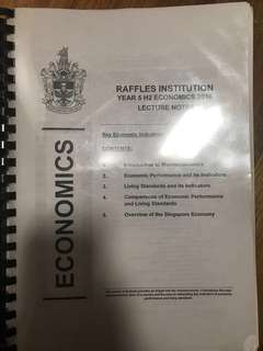 RI A level econs notes full (BINDED)