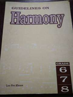 Guidelines on Harmony Theory Book