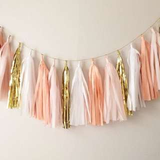 [Sellabrations] DIY Tassel Garlands Foil Tassels