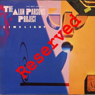 Alan parsons project, Vinyl LP, used, 12-inch original pressing