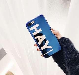 [全新包郵]iPhone X 藍光鐳射面型格手機殻/ creative glossy iPhone X case