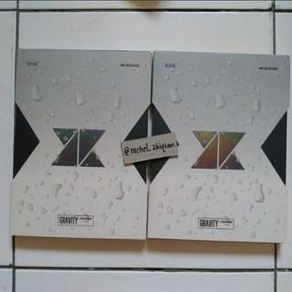 KNK GRAVITY.COMPLETED ALBUM WITH POSTER