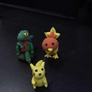 Pokémon series (clay model)