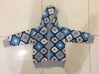jaket baby blue