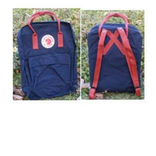 小背包雙肩包狐狸kanken背包方形手提背包尼龍防水學生書包