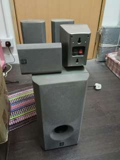 Yamaha sw-P201 speakers