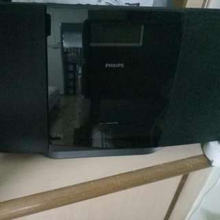 Philip Radio Cd System Set